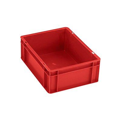 Euro-Format-Stapelbehälter, Wände und Boden geschlossen - LxBxH 400 x 300 x 50 mm