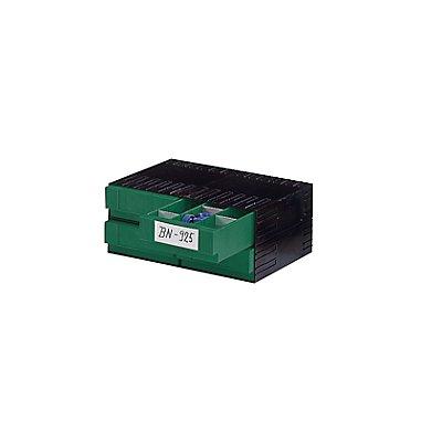 Plastipol-Scheu Kombi-Schubladensystem aus Polystyrol - mit 4 Schubladen 3 x 71 mm
