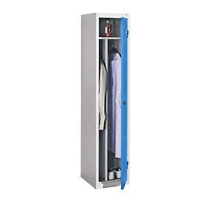 QUIPO Stahlspind, für Vorhängeschloss - 1 Abteil, Breite 400 mm