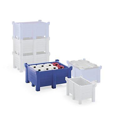 Denios Transport- und Stapelbehälter aus PE - Auflast 2500 kg