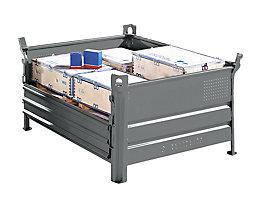 Option Vollwandklappe - für BxL 800 x 1200 mm - Mehrpreis