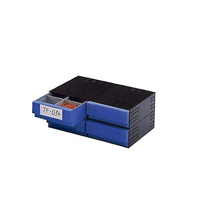 Plastipol-Scheu Kombi-Schubladensystem aus Polystyrol - mit 4 Schubladen 225 mm
