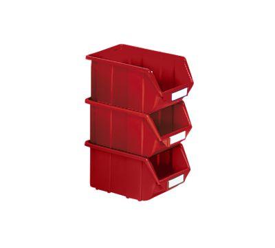 Sichtlagerkasten aus Polypropylen - LxBxH 125 x 113 x 64 mm