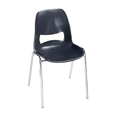 Chaise coque en polypropyl ne sans rembourrage for S asseoir sans chaise