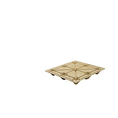 INKA Palette aus Pressholz - LxB 1200 x 1000 mm, mit 9 Füßen