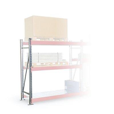 Schwerlastregal-Stützrahmen - Rahmenhöhe 4350 mm