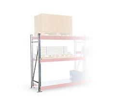 Schwerlastregal-Stützrahmen - Rahmenhöhe 4700 mm, verzinkt