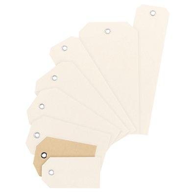 inapa Kartonanhänge-Etiketten - Karton mit Metallöse, VE 1000 Stück