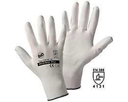Handschuhe MICRO-PU - weiß, VE 12 Paar