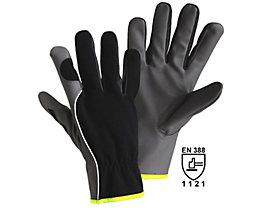 Handschuhe DIAMOND GRIP - grau / schwarz, VE 12 Paar