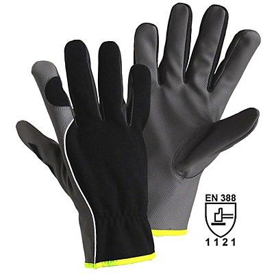 Handschuhe DIAMOND GRIP, grau / schwarz, VE 12 Paar, Größe 8
