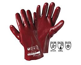 Handschuhe VINYL-27 - rotbraun, VE 12 Paar