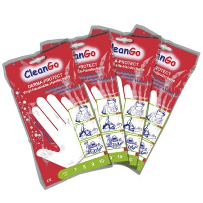Handschuhe DERMA-PROTECT - weiß, VE 10 Paar