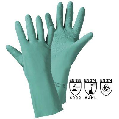 Chemikalienschutzhandschuh - grün, VE 12 Paar