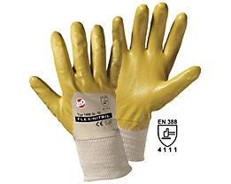 Handschuhe FLEX-NITRIL - gelb / natur, VE 12 Paar