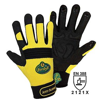 Handschuhe ANTI-SCHOCK - gelb / schwarz, 1 Paar