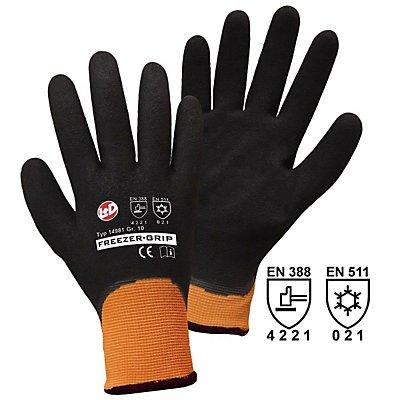 Handschuhe FREEZER-GRIP - mit Nitrilbeschichtung, VE 12 Paar
