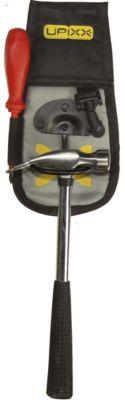 Hammerträger, mit zusätzlichem Gürtel, schwarz / grau
