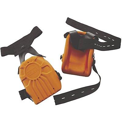 Knieschoner, ergonomisch, 1 Paar, orange