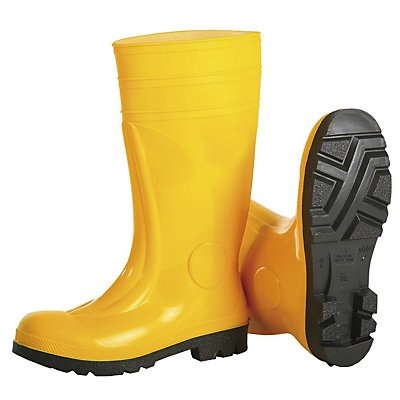 S5 Sicherheitsstiefel SAFETY - gelb, 1 Paar