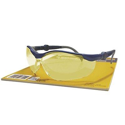 Schutzbrille CYCLE, gelb, VE 3 Stk