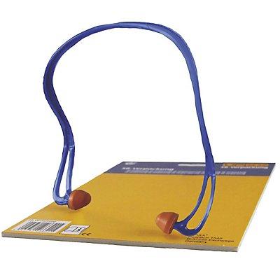 Bügelgehörschutz VE A 5, Polyurethan, orange / blau