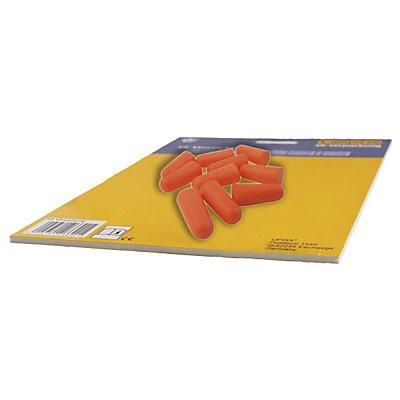 Gehörschutzstöpsel, Polyurethan, VE A 24 Paar, orange