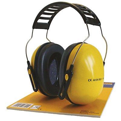 Kapselgehörschutz ARTON METALL, Kunststoff, gelb / schwarz
