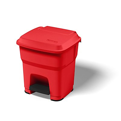 Rothopro Collecteur de déchets à pédale, en plastique - capacité 35 l
