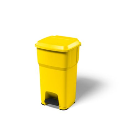 rothopro Pedal-Abfallsammler aus Kunststoff - Volumen 60 l