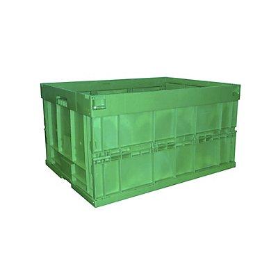 WALTHER Faltbox aus Polypropylen - Inhalt 200 l, ohne Deckel