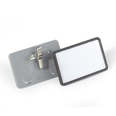Durable CLIP CARD mit Kombiklemme - VE 25 Stk
