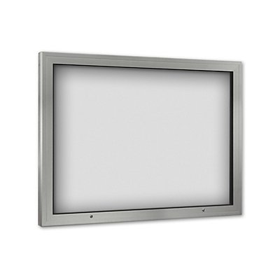 Schaar-Design Schaukasten - Türöffnung 90° nach oben