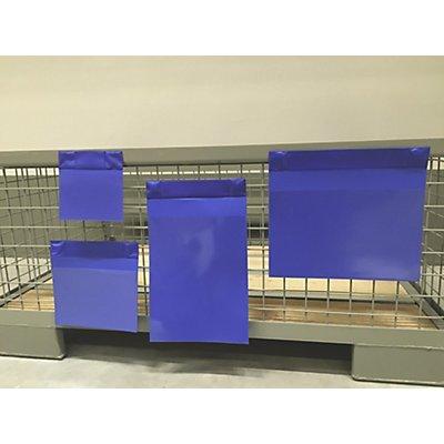 Neodym-Magnettaschen, VE 50 Stk - Öffnung an der Längsseite