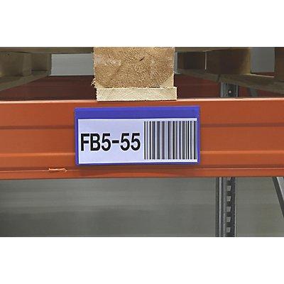 Etikettentaschen, VE 50 Stk - mit Magnetstreifen