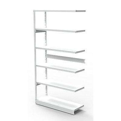 Büro-Steckregal, ohne Rückwand - Regalhöhe 1900 mm