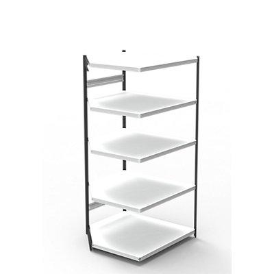 Kerkmann Büro-Regalsystem, ohne Rückwand - Regalhöhe 1900 mm