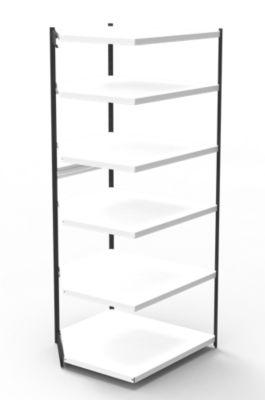 Büro-Regalsystem, ohne Rückwand - Regalhöhe 2250 mm
