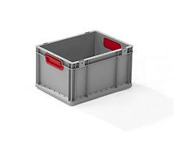 Schwerlast-Euronormbehälter - Inhalt 20,7 l, VE 4 Stk