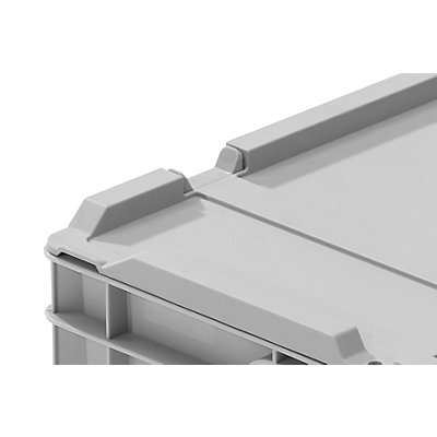 allit Stülpdeckel - für Euronormbehälter, LxB 600 x 400 mm, VE 2 Stk