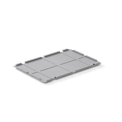 allit Scharnierdeckel - für Euronormbehälter, LxB 600 x 400 mm, VE 2 Stk