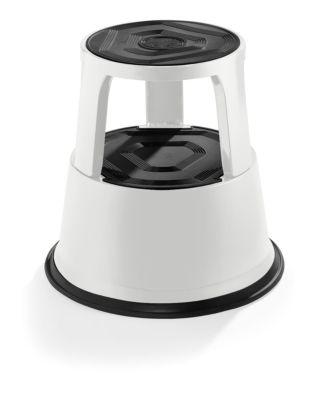 Rollhocker aus stabilem Stahlblech - Höhe belastet 420 mm