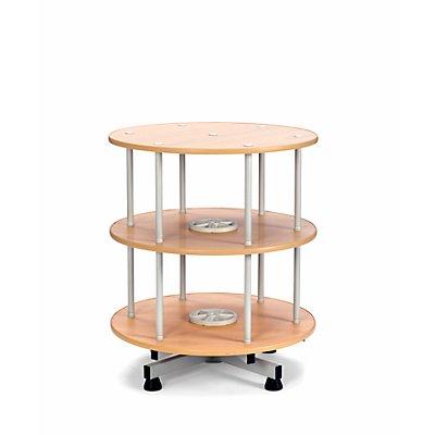 Ordner-Drehsäule - Ø 800 mm, Tisch-Ausführung