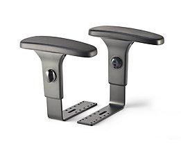 Topstar Höhenverstellbare Armlehnen - für Bandscheiben-Drehstuhl - Paar
