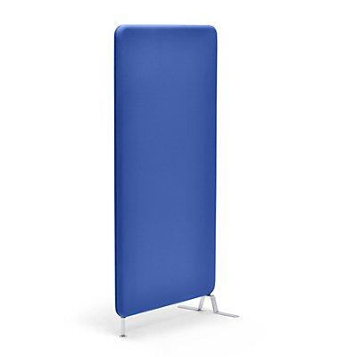 abstracta Lärmschutzwand Softline - mit Stoffbezug, Gesamthöhe 1600 mm