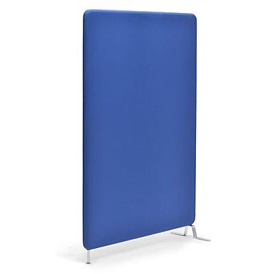 abstracta Schallschutz-Trennwandsystem Softline - mit Stoffbezug, Gesamthöhe 1800 mm