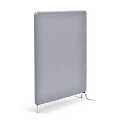 abstracta Schallschutzwand Softline - mit Stoffbezug, Gesamthöhe 1460 mm