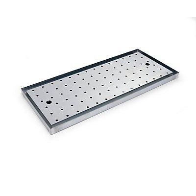 Wannenboden - für BxT 1200 x 500 mm - verzinkt