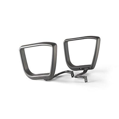 Bürodrehstuhl-Armlehnen - 1 Paar, schwarz - standard