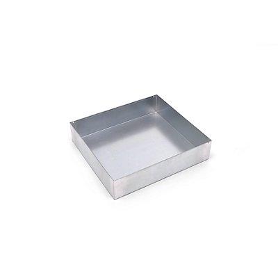 Wannenboden - für BxT 500 x 500 mm - verzinkt